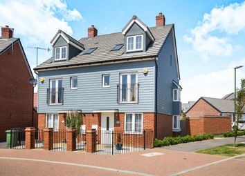 Thumbnail 4 bedroom semi-detached house for sale in Coleridge Crescent, Littlehampton