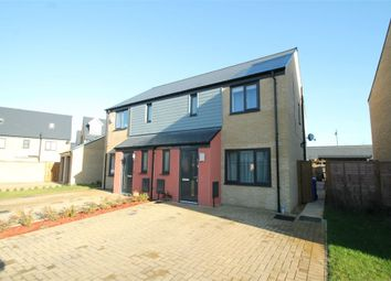 Thumbnail 3 bed semi-detached house for sale in Elvedon Close, Ipswich, Suffolk