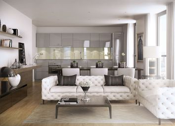 Thumbnail 2 bedroom flat for sale in Manhattan Plaza, Manhattan Tower, Canary Wharf