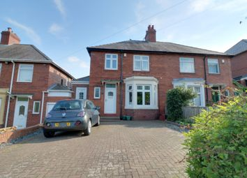Thumbnail 3 bed semi-detached house for sale in Hexham Road, Throckley, Newcastle Upon Tyne
