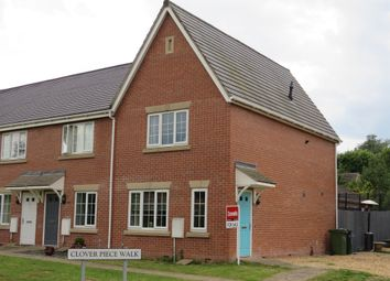 Thumbnail 3 bed end terrace house for sale in Clover Piece Walk, Hereford