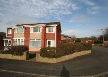 Thumbnail 3 bedroom semi-detached house for sale in Cremorne Close, Marton-In-Cleveland, Middlesbrough