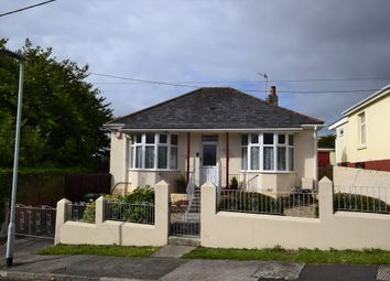 Thumbnail 2 bed detached bungalow for sale in Grosvenor Road, Crownhill, Plymouth