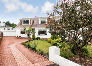 Thumbnail 4 bed semi-detached house for sale in Scott Drive, Largs, North Ayrshire, Scotland