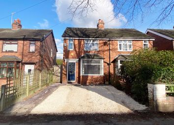 Thumbnail 2 bed semi-detached house for sale in Dividy Road, Bucknall, Stoke-On-Trent, Staffordshire
