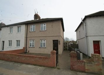 Thumbnail 3 bed semi-detached house for sale in Hathaway Road, Grays