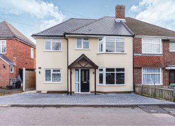 Thumbnail 6 bed semi-detached house for sale in Middle Road, Sholing, Southampton