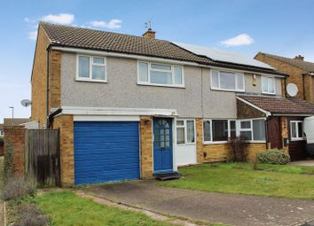 Thumbnail 3 bed semi-detached house for sale in Chichester Close, Dunstable