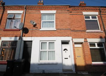 Thumbnail 2 bed terraced house for sale in Tewkesbury Street, West End, Leicester