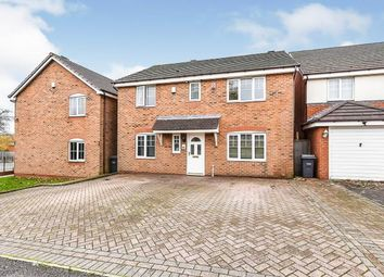 Thumbnail 4 bed detached house for sale in Thorncroft Way, Walsall, West Midlands