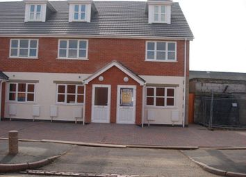Thumbnail 4 bed town house to rent in St Ives Road, Northfields, Leicester