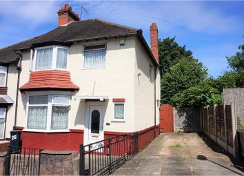 Thumbnail 3 bed semi-detached house for sale in Claughton Road, Dudley