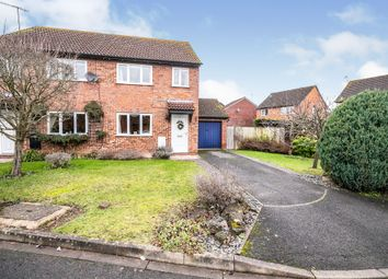 Thumbnail 3 bed semi-detached house for sale in Slimbridge Close, Worcester