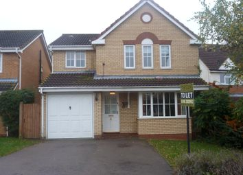 Thumbnail 4 bedroom detached house to rent in Stickle Close, Huntingdon