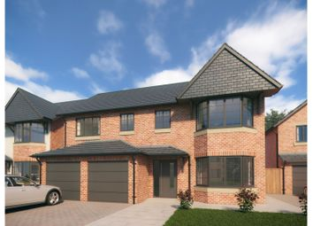 Thumbnail 5 bed detached house for sale in Drury Lane, Buckley