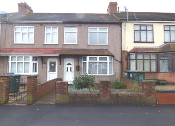 Thumbnail 1 bed terraced house for sale in Meadow Road, Coventry