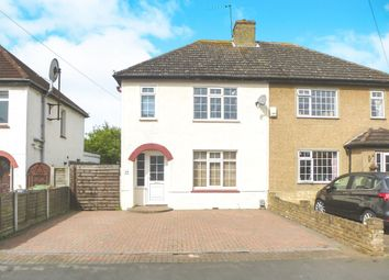 Thumbnail 3 bedroom semi-detached house for sale in Crossfield Road, Hoddesdon
