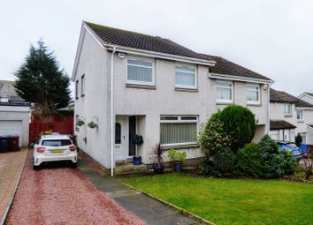 Thumbnail 3 bed semi-detached house for sale in Whiteshaw Avenue, Carluke