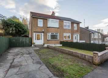 Thumbnail 3 bed semi-detached house for sale in Carna Drive, Simshill, Glasgow