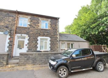 Thumbnail 3 bed end terrace house for sale in Tregwilym Road, Rogerstone, Newport