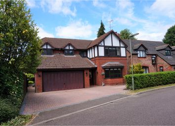 Thumbnail 4 bed detached house for sale in Percheron Drive, Woking