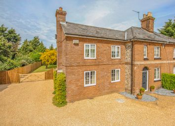 Thumbnail 3 bed semi-detached house for sale in Mill Road, Ashley, Newmarket