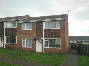 Thumbnail 2 bed semi-detached house to rent in Coates Close, Stanley