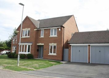 Thumbnail 4 bed detached house for sale in Primrose Close, Groby, Leicester