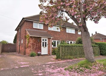 Thumbnail 3 bedroom semi-detached house for sale in Drivers Avenue, Huntingdon
