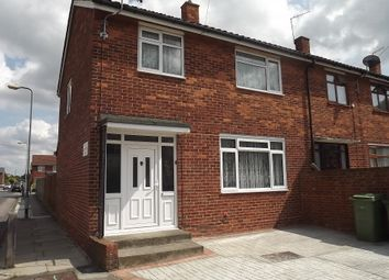 Thumbnail 3 bed end terrace house to rent in Edington Road, Abbey Wood