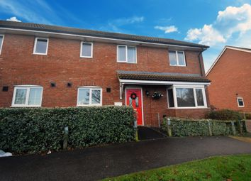 Thumbnail 3 bedroom semi-detached house for sale in The Street, Great Bricett, Ipswich