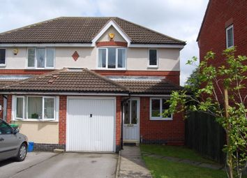 Thumbnail 3 bed semi-detached house to rent in Park Gardens, Sutton-In-Ashfield, Nottinghamshire