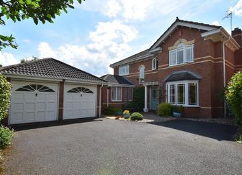 Thumbnail 4 bed detached house for sale in Geoffrey Chaucer Walk, Droitwich