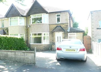 Thumbnail 3 bed semi-detached house to rent in Kingsdale Crescent, Bradford