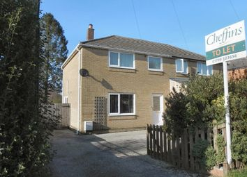 Thumbnail 3 bed detached house to rent in Orchard Close, Saffron Walden