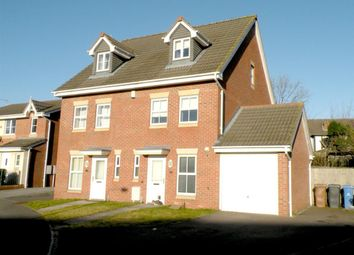 Thumbnail 3 bedroom town house to rent in Willowside Green, Spondon, Derby