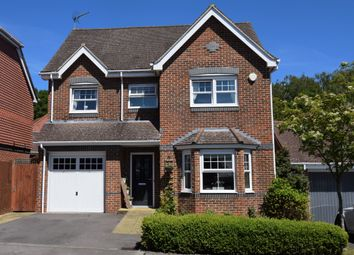 Thumbnail 4 bed detached house for sale in Stretcher Drive, Hermitage, Thatcham