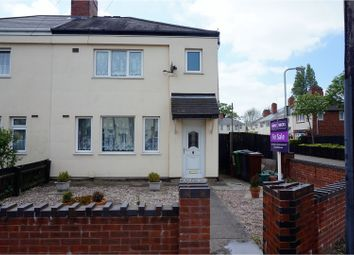 Thumbnail 3 bed semi-detached house for sale in Clarence Road, Bilston