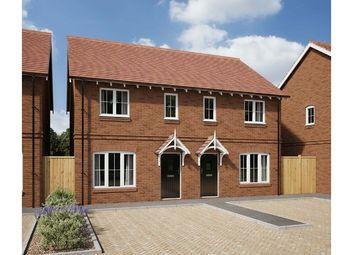 Thumbnail 2 bedroom semi-detached house for sale in Plot 94 Vyne Park, Chineham, Basingstoke, Hampshire
