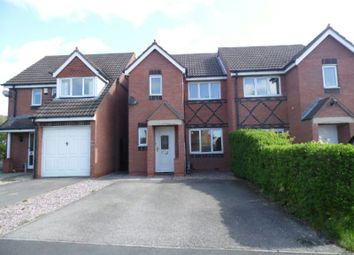 Thumbnail 4 bedroom semi-detached house to rent in Seacole Close, Thorpe Astley, Braunstone, Leicester
