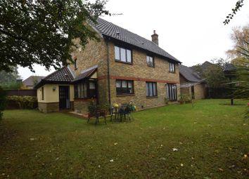 Thumbnail 4 bedroom detached house for sale in The Paddocks, Stapleford Abbotts, Romford, Essex