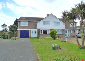 Thumbnail 3 bed semi-detached house for sale in Southmead Close, Folkestone