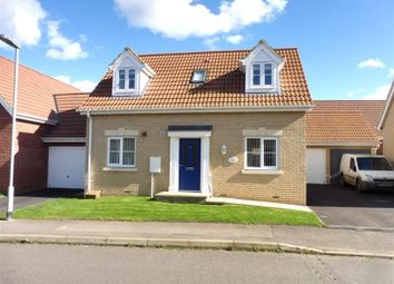 Thumbnail 2 bedroom detached house for sale in Abraham Drive, South Brink, Wisbech
