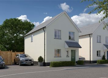 Thumbnail 3 bed detached house for sale in Plot 8, Belle Vue Heights, Ashley Road, Uffculme, Devon