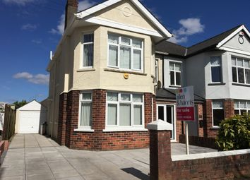 Thumbnail 3 bedroom semi-detached house for sale in Manor Way, Heath, Cardiff