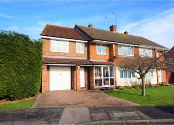 Thumbnail 4 bed semi-detached house for sale in Wilmington Close, Reading
