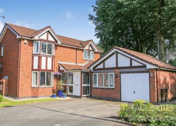 Thumbnail 4 bedroom detached house for sale in Estonfield Drive, Urmston, Manchester