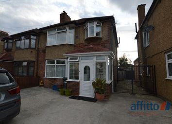 Thumbnail 4 bed semi-detached house for sale in Springwell Road, Heston, Middlesex