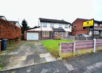 Thumbnail 3 bed semi-detached house to rent in Abbeydale Gardens, Worsley, Manchester
