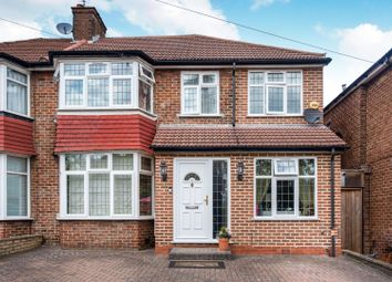 Thumbnail 4 bed semi-detached house for sale in Coledale Drive, Stanmore